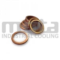 (lot de 50) Joint cuivre pour bouchon M18