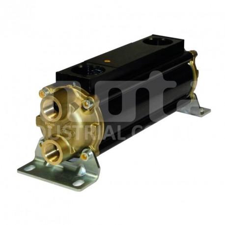 E083-196-4/CN Hydraulic oil cooler, Copper-Nickel tubes version