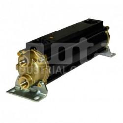 E083-283-4/CN Echangeur d'huile hydraulique, version tubes Cupro-Nickel