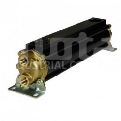 E083-411-4/CN Echangeur d'huile hydraulique, version tubes cupro-nickel