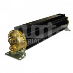 E110-564-4/CN Echangeur d'huile hydraulique, version tubes cupro-nickel