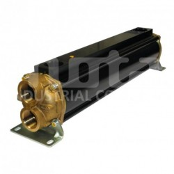 E110-564-2/CN-BR-D-AA Hydraulic oil cooler, marine version with drain and anodes