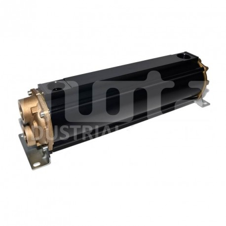 E135-564-2/CN-BR-D-AA Hydraulic oil cooler, marine version with drain and anodes