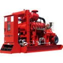Industrial engine cooling
