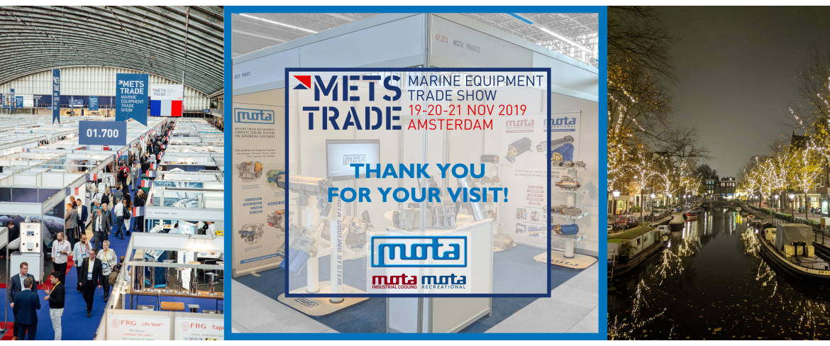METSTRADE 2019: Thank you for your visit on MOTA booth