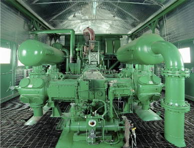 Industrial compressors, 3D printing air cooling