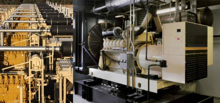 Gensets, fire-pump engine cooling