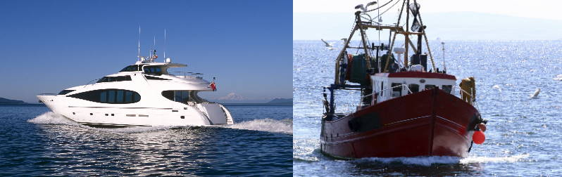 Marine engines & gearboxes cooling